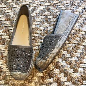 Franco Sarto Twilight Rhinestone Espadrille Shoes